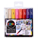 Posca 1mm Extra Fine Markers 16 Piece Pack